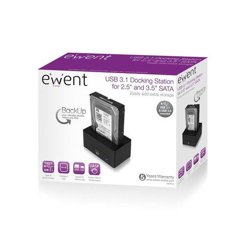 Ewent Eminent Docking Station voor 2.5inch en 3.5inch USB 3.0