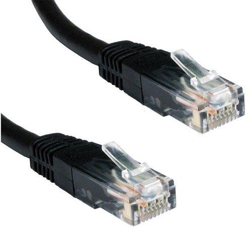Ewent 2.0m Cat5e UTP netwerkkabel 2 m U/UTP (UTP) Zwart