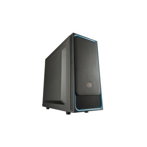 CoolerMaster Cooler Master MasterBox E500L Midi Tower Zwart, Blauw