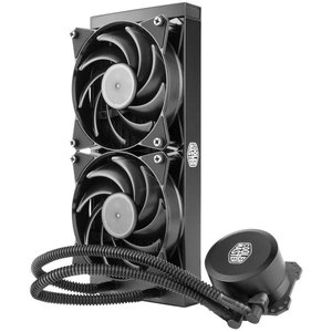 CoolerMaster Cooler Master MasterLiquid 240 water & freon koeler Processor