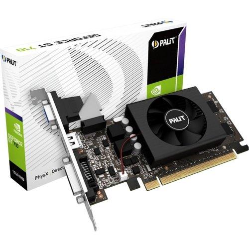 Palit VGA PALIT GeForce GT710 1GB DDR3 / DVI / HDMI