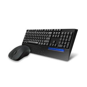 Rapoo X1960 Wireless Keyboard + Mouse Desktopset - Black