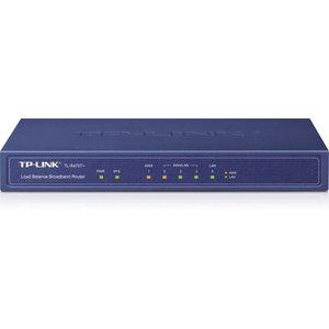 TP-Link TP-LINK TL-R470T+ bedrade router Fast Ethernet Zwart