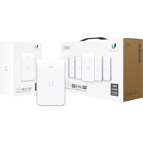 Ubiquiti Networks UAP-AC-IW 5-pack WLAN toegangspunt 1000 Mbit/s Power over Ethernet (PoE) Wit