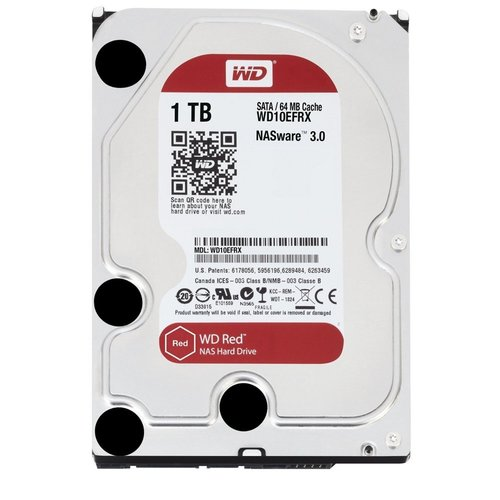 "Western Digital Red 3.5"" 1000 GB SATA III HDD"
