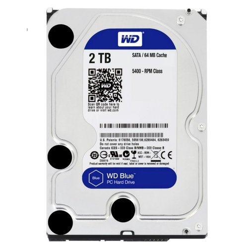 Western Digital Blue 2TB IntelliPower - 64MB - SATA3