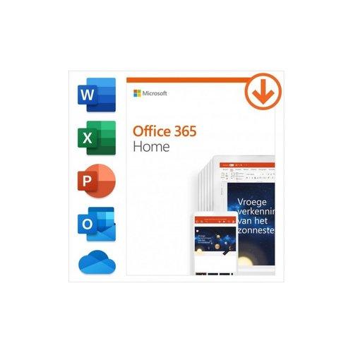 Microsoft Office 365 Home 6 licentie(s) 1 jaar Duits