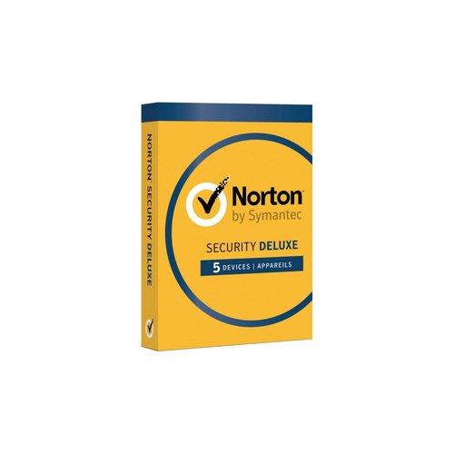 Symantec Norton Security Deluxe 1 User 5 Devices OEM