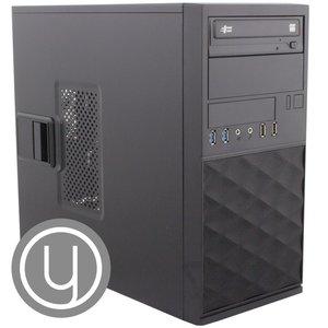 Yours! YOURS GREY / mATX / Ryzen 5-3400G  / 8GB / 1TB + 480 / HDMI / W10