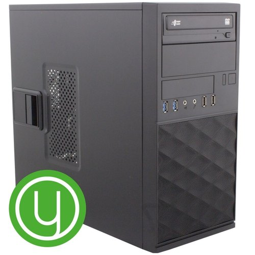 Yours! Yours Green Desktop PC CEL/4GB/1TB/120GB SSD/HDMI/W10