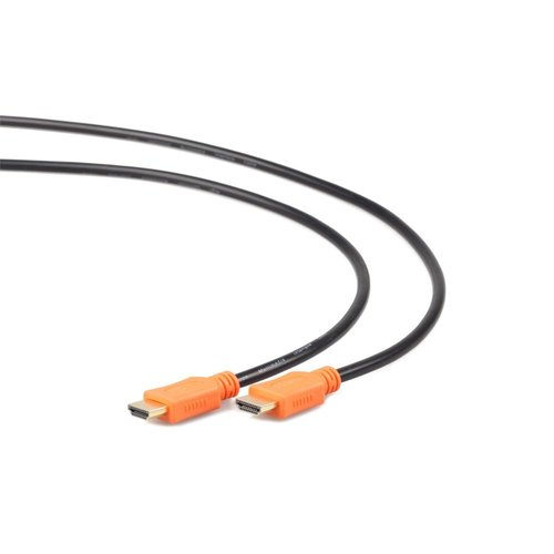 OEM Gembird CC-HDMI4L-6 HDMI kabel 1,8 m HDMI Type A (Standaard) Zwart, Oranje