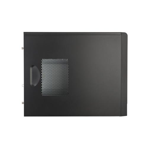 CoolerMaster Case Cooler Master MasterBox E300L Mini Tower Zwart, Rood