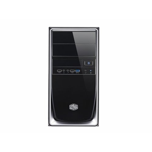 CoolerMaster Case Cooler Master Elite 344 Mini Tower Zwart, Zilver