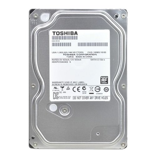 Toshiba HDD  3TB - 3.5inch - 7200RPM - 64MB - SATA3
