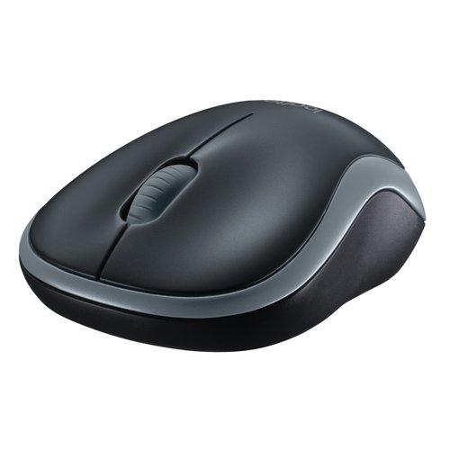 Logitech M185 Wireless Mouse Swift Grey