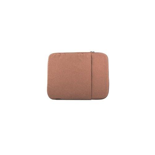 """OEM Logic PLUSH notebooktas 35,6 cm (14"""") Opbergmap/sleeve Bruin"""