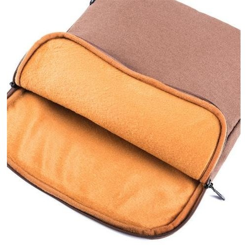 "OEM Logic PLUSH notebookbag (14"") Bruin"