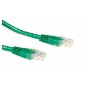 Ewent 0.5m Cat6 UTP netwerkkabel 0,5 m U/UTP (UTP) Groen