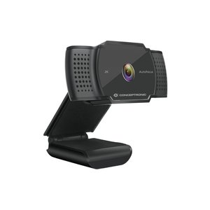 OEM Conceptronic AMDIS02B webcam 5 MP 2592 x 1944 Pixels USB 2.0 Zwart