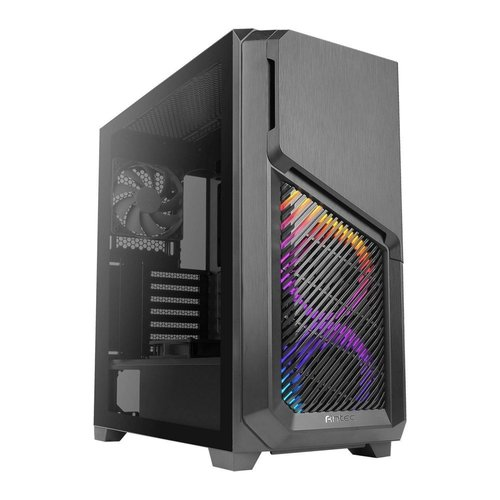 Antec Case  DP502 Flux Midi Tower Glass Steel Grey