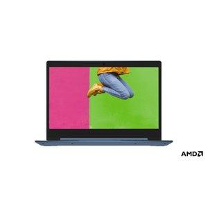 "Lenovo IdeaPad Slim 1 Notebook Blauw 35,6 cm (14"") 1920 x 1080 Pixels AMD A4 4 GB DDR4-SDRAM 64 GB eMMC Wi-Fi 5 (802.11ac) Windows 10 Home S"