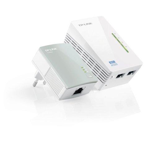 TP-Link TP-LINK TL-WPA4220KIT PowerLine-netwerkadapter 300 Mbit/s Ethernet LAN Wi-Fi