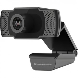 OEM Conceptronic AMDIS webcam 2 MP 1920 x 1080 Pixels USB 2.0 Zwart