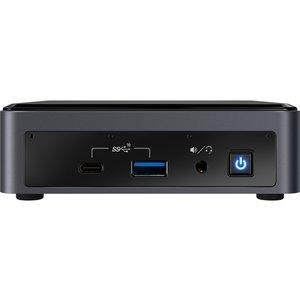 Intel NUC BXNUC10I7FNK2 PC/workstation barebone i7-10710U 1,1 GHz UCFF Zwart BGA 1528