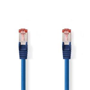 Nedis CCGP85221BU10 netwerkkabel Blauw 1 m Cat6 S/FTP (S-STP)