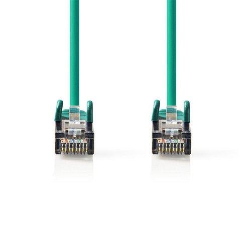 Nedis CCGP85221GN10 netwerkkabel Groen 1 m Cat6 S/FTP (S-STP)