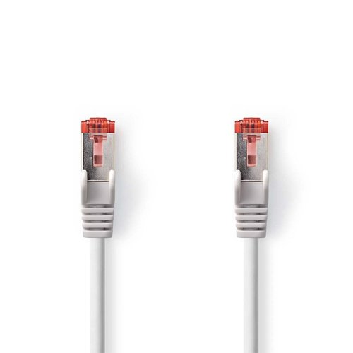 Nedis CCGP85221GY30 netwerkkabel Grijs 3 m Cat6 SF/UTP (S-FTP)