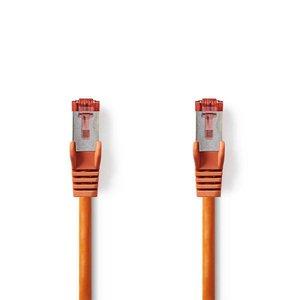 Nedis CCGP85221OG10 netwerkkabel Oranje 1 m Cat6 SF/UTP (S-FTP)