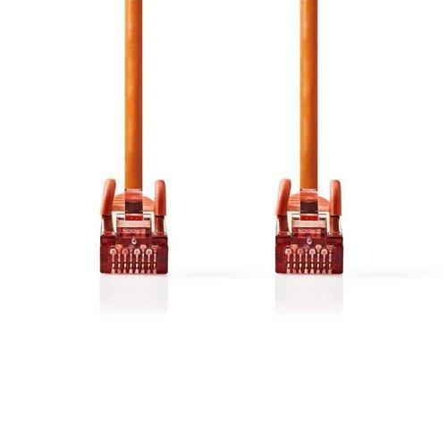 Nedis CAT6 S/FTP-netwerkkabel/RJ45 1m Oranje