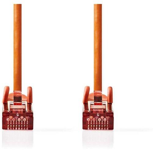 Nedis CAT6 S/FTP-netwerkkabel/RJ45 2m Oranje