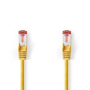 Nedis CCGP85221YE10 netwerkkabel Geel 1 m Cat6 SF/UTP (S-FTP)