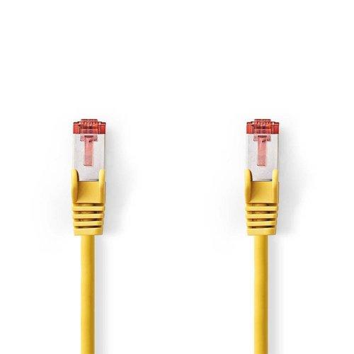 Nedis CAT6 S/FTP-netwerkkabel/RJ45 1m Geel