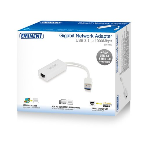 Eminent Gigabit USB 3.0 networking adapter