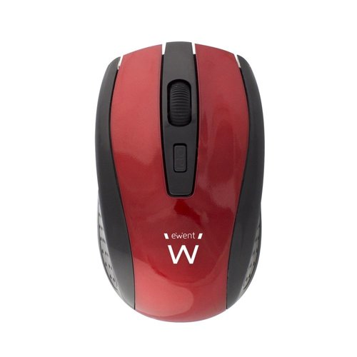 Ewent Wireless mouse red 1000/1200/1600dpi