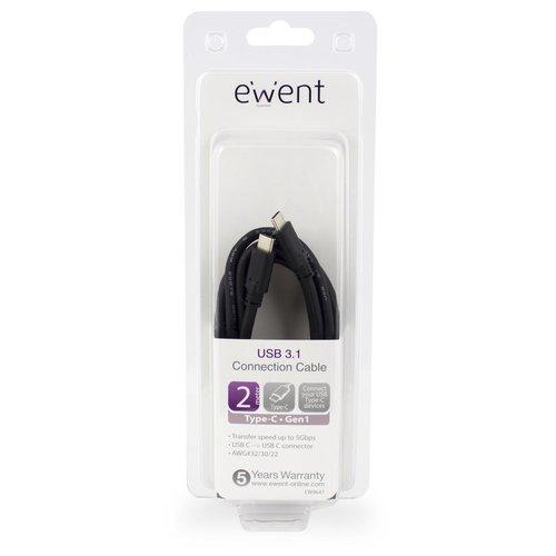Ewent Type-C Connection Cable USB 3.1 Gen1 (USB 3.0) 2.0 M