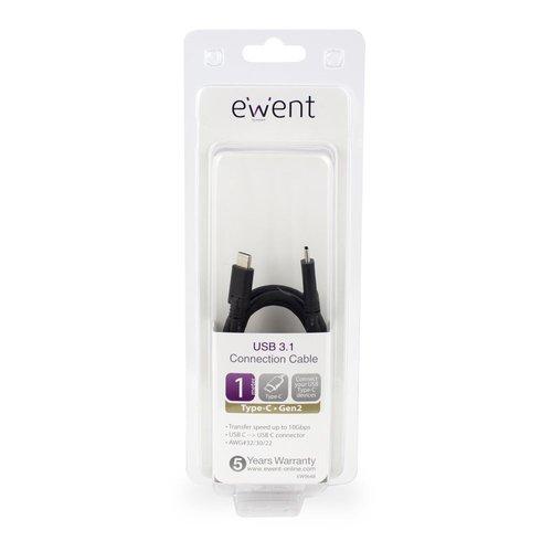 Ewent Type-C Connection Cable USB 3.1 Gen2 1.0 M
