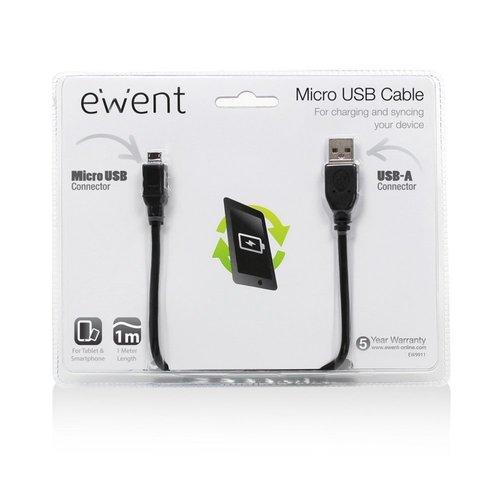 Ewent USB 2.0 to Micro USB 1M