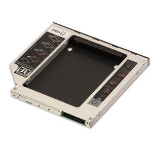 """OEM Bracket Caddy Ultra Slim optical drive slot 2.5"""" sata hdd"""