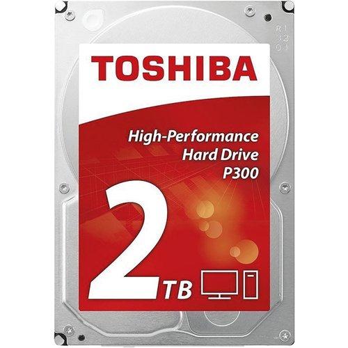 Toshiba HDD  P300 2TB - 3.5inch - 7200RPM - 64MB - SATA3