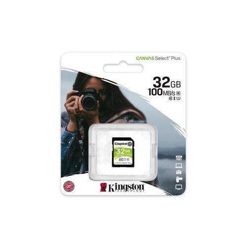 Kingston SDHC Card 32GB  UHS-I Canvas Select Plus