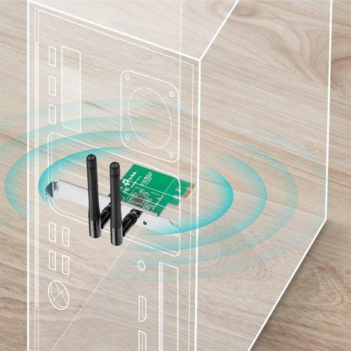 TP-Link Wireless-N 300MBPS PCIe Adapter Draft-N