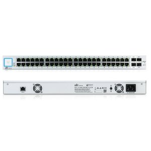 Ubiquiti Networks UniFi US-48 Managed network switch Gigabit Ethernet (10/100/1000) 1U Wit netwerk-switch