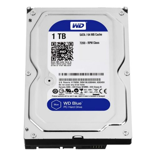 Western Digital Blue 1TB IntelliPower - 64MB - SATA3