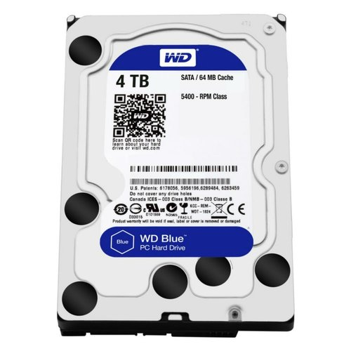Western Digital 4TB IntelliPower - 64MB - SATA3