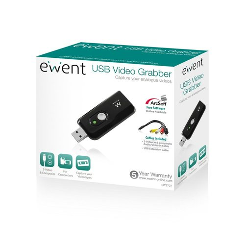 Ewent USB 2.0 Video Grabber with free software