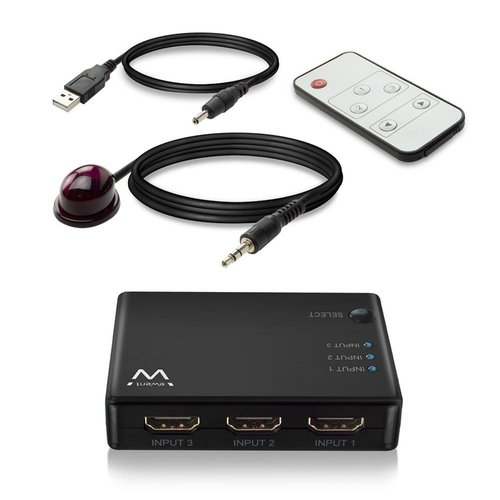 Ewent HDMI Switch 3 port 4K@30Hz